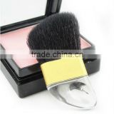 transparent horn shape stick compact blush brush/small size blusher cosmetic brush