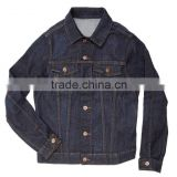 High quality men fashion design 100% cotton denim jacket ladies long sleeve jackets facotry in Zengceng