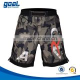 2015 wholesale fashion custom sublimated printed men's camo fight mma shorts                                                                         Quality Choice