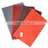 PVC Plastic material Type and polyester pile Factory direct sales good quality floor mat