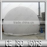 Double Membrane biogas storage tank --- Biogas holder, Auto-control system, Biogas generator, biogas torch