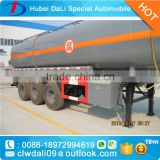 liquefied natural gas lng lpg propane tanker truck , methanol LPG gas tank semi trailer for sale