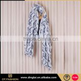Latest design belly dance hip animal printed dyed scarf