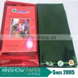 Alibaba paper wholesale factory printed transparent iridescent cellophane