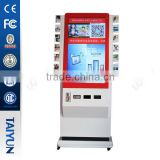 42 Inch advertising LED vending Wechat Photo Printer With Coins Selector