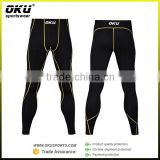 custom compression tights pants for gym running, compression garment, compression leg sleeve