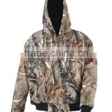 winter camo battery heated hunting jacket