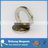 rare earth neodymium magnet ring with radially magnetization