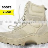 Military desert boot Tactical hiking boot Yellow combat boots