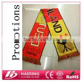 Promotions $0.8 Acrylic football fans scarf for 2016 European Cup