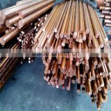 4.5mm diameter supply copper bus/rods, Electrical Panel copper Bar, tinned coated copper bus bar plate for earthing