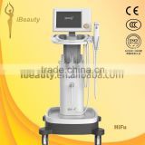 High Focused Ultrasonic Hifu Products Of High Intensity Skin Tightening Focused Untrasound Portable Hifu/ultrasonic Facial Beauty Device Machine