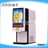2014 Sapoe Touch Screen 2-Flavor Frozen Drink Machine with LED Display