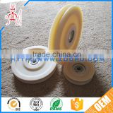Best shock resistant low friction plastic pulley wheels