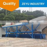 Match with concrete mixer concrete batching machine PLD800 three high quality iron hopper