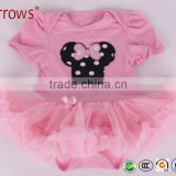 New Newborn Baby Girl Infant Clothing Tutu Romper Dress/Jumpsuit Christmas Birthday clothes