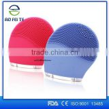 Alibaba Electric Face Washing Cleaner/cleaning facial brush/beauty tool silicone facial brush