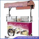 JX-CR200 high quality economical coffee hot dog bike/cart for sale