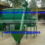 Horizontal animal feed mixer machine/poultry fodder mixing machine 0086-15238020698