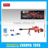 Zhorya hot selling nice quality red battery operated barrett water bullet gun toy