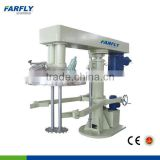 FDH EX-proof UV lacquer dual-shaft hydraulic lifting disperser ,dissolver,paint mixing machine with tank clamp