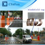 UHF long range reader and UHF windshield tags provide SDK,demo software,user manual for rfid vehicle access control system