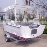 CE certificated 15ft new Aluminum Bass Boat