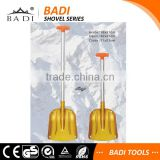 high strength telescopic T handle aluminum heated snow shovel