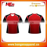 Hongen apparel Wholesale soccer jersey summer hot sale round neck mens single jersey soccer shirts