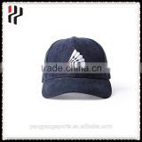 Custom unique embroidery baseball hats and fashion badminton logo sports caps