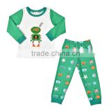 Cartoon Children Clothing Top+Pants 2pcs pyjamas animal full sleeve unisex kids set clothes