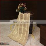 5-star hand-made 100%cotton anti-slip Hotel bath rug