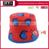 Fashion Printing Pattern and 100% cotton twill material funny emoji kids bucket hat