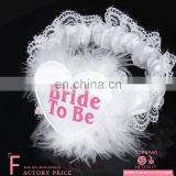 New arrival fancy women bride to be sexy leg garter for wedding party dress up