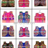 Indian Cotton jacket Koti- Gujarati Navratri koti- Indian Handmade boho shrug- Designer Kutchi Jacket koti