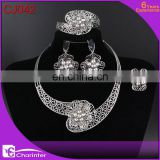 free shipping big fashion jewelry set/dubai gold jewelry set / rani haar jewelry set