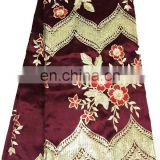 Fshion george lace fabric for african lady wedding dress patry dress