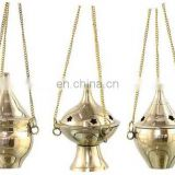 BRASS INCENSE BURNER HANGING