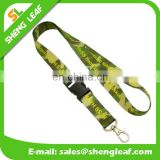 Custom polyester camouflage lanyard no minimum order