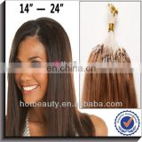 Cheap Malaysian Micro Bead Human Hair Extensions