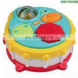 Multifunctional Musical Double Pat Drum Toy for Kids - Educational Baby Toy Drum with Lights and Sounds