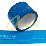 Tamper evident security tape with sequential number and perforation,Tamper Proof Security tape,package tape