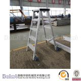 Aluminum A shape foldable ladders