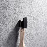Square Bathroom Robe Hook Single