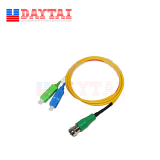 Patch Cord Type Mini Passive FTTH WDM (CATV+PON) Optical Receiver Node for Digital TV