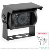 1080P/960P HD/AHD Bus Camera with Night Vision and full alloy housing (TOP-01R)