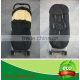 2015 can be used on stroller, car seat good style soft and thick baby sheepskin sleeping bag