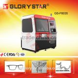 kitchen ware 600*500mm 500w/800w mini laser cutting machine for aluminum, stainless steel