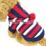 custom protective cotton knitted pattern pet dogs show clothing