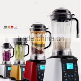 Professional commercial blender3HP BPA free smoothie maker CB-608D with LCD screen